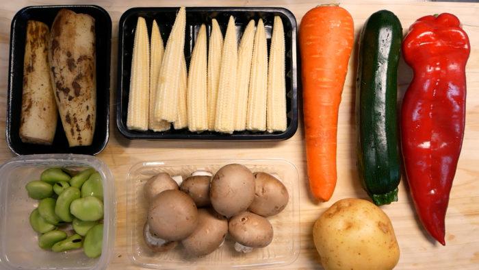 スープカレーの具の材料
