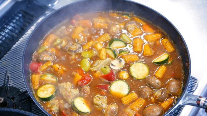 スープカレーの完成