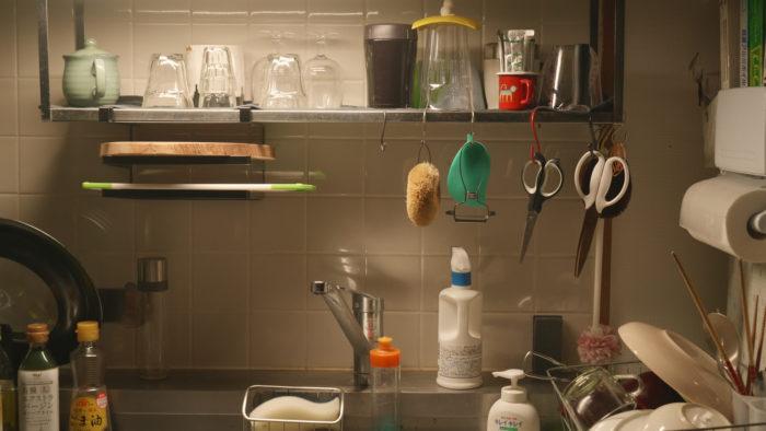 夜中の台所