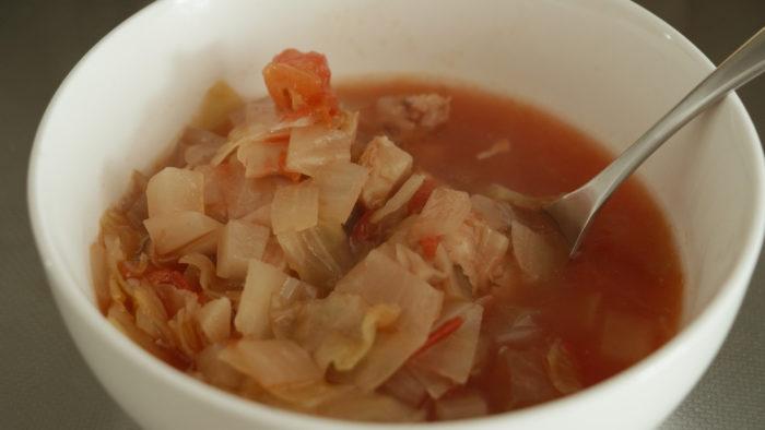 トマト野菜スープ